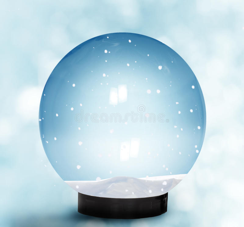 Download Snow Dome stock illustration. Image of future, decoration - 27906185