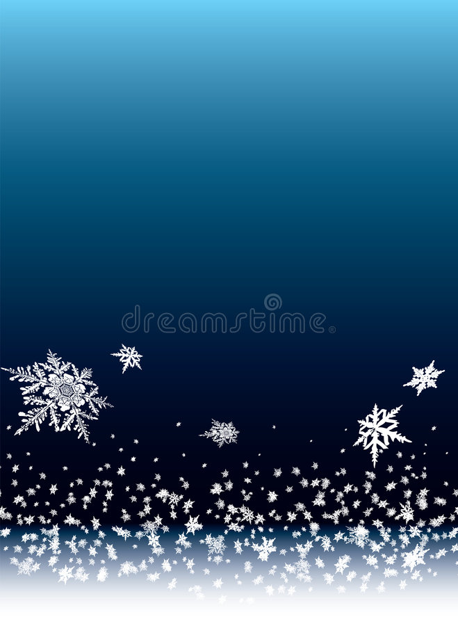 Snow drift royalty free illustration