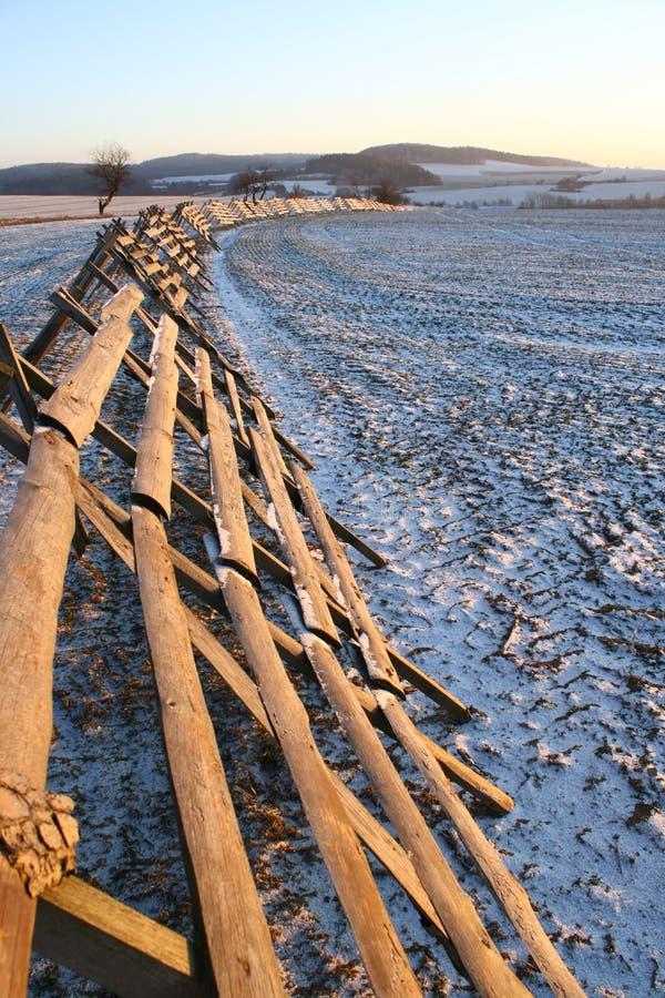 Download Snow-drift barrier stock photo. Image of scruple, block - 7625160