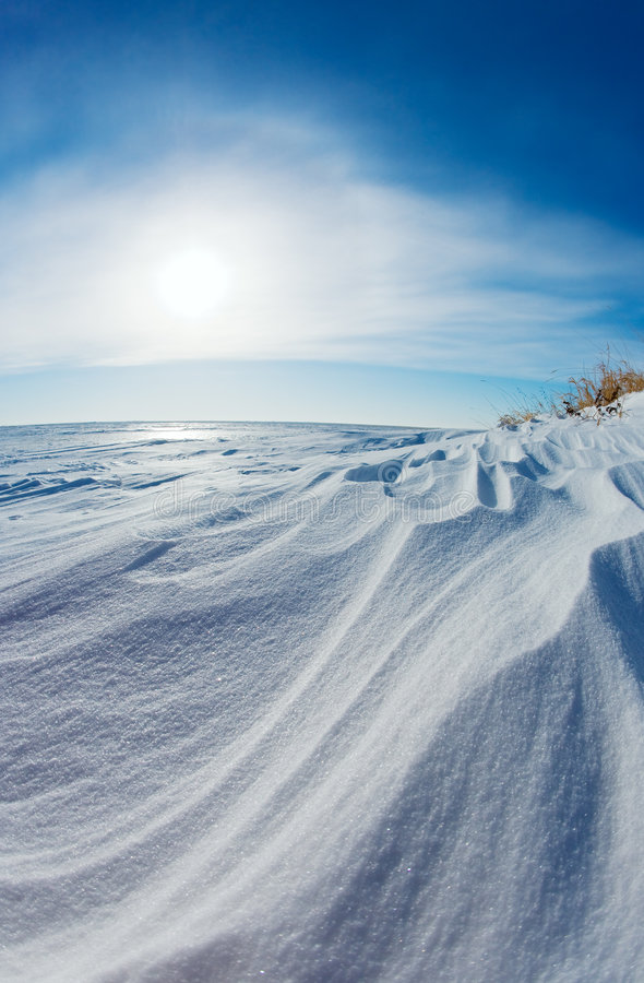 Free Snow Dunes Stock Photos - 4153883