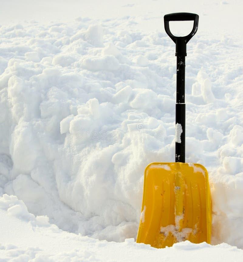 snow för skyffel ii royaltyfria foton