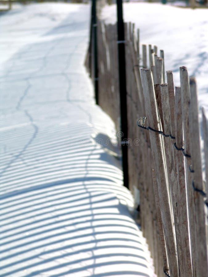 Free Snow Fence Stock Photo - 12652680