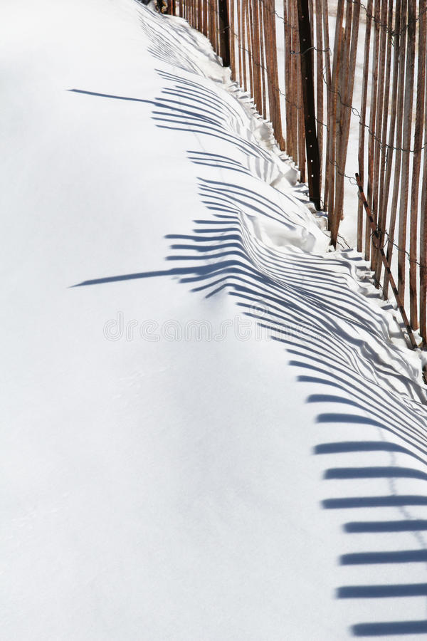 Free Snow Fence Stock Photos - 18970063