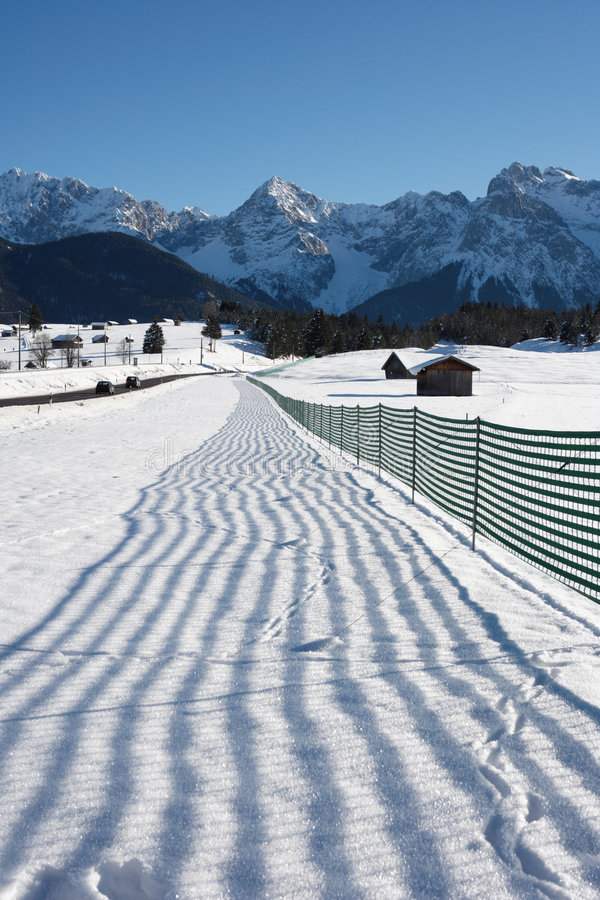 Free Snow Fence Stock Photos - 3963153