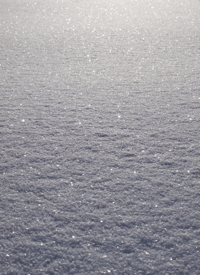 Snow field background