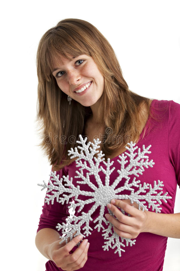 Download Snow flake stock image. Image of winter, christmas, isolated - 11542911