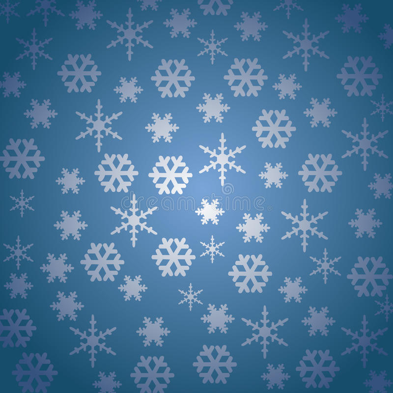 Download Snow-Flake stock vector. Illustration of christmas, blue - 12266781