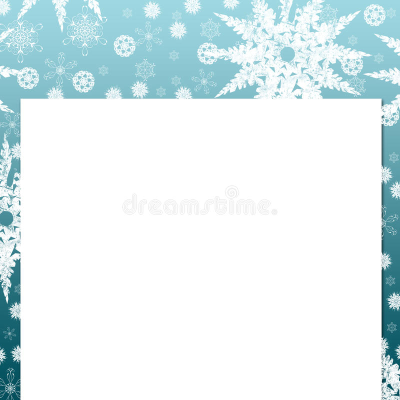 Download Snow flake stock illustration. Image of background, christmas - 12609661
