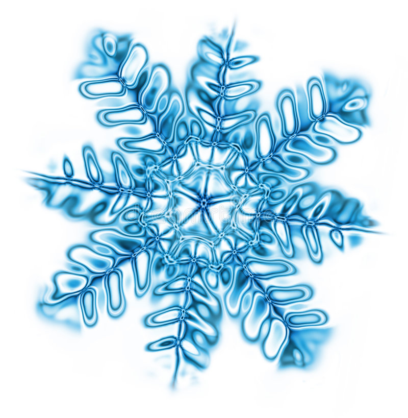 Download Snow flake stock illustration. Image of january, pretty - 1406205