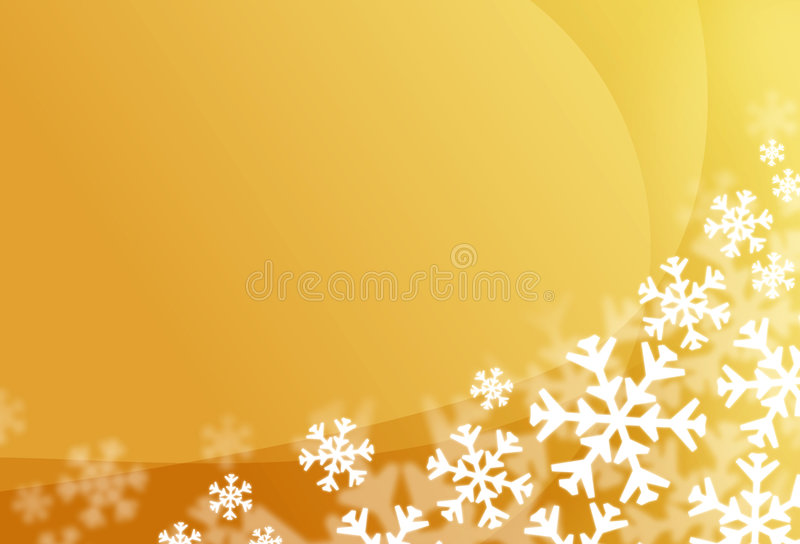 Snow Flake Background Stock Images