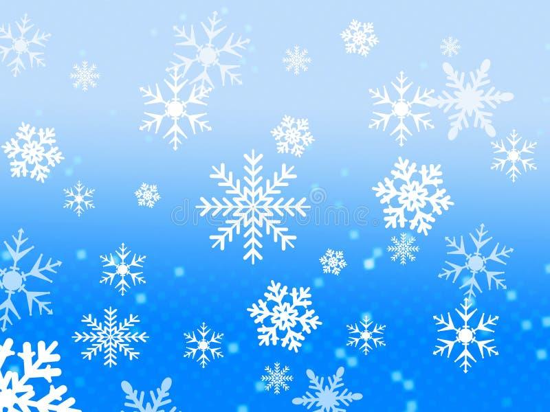 Snow flake design vector illustration