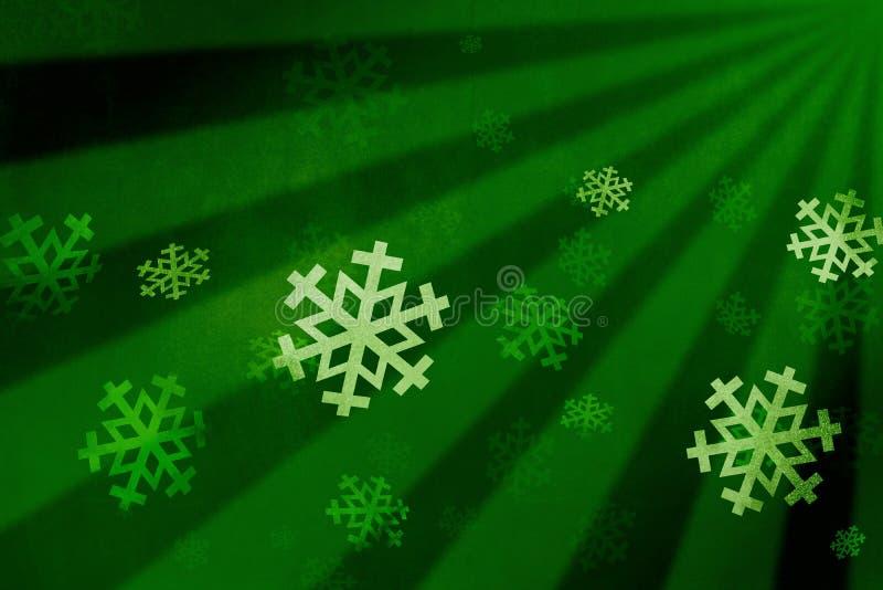 Snow Flake Green Stock Image