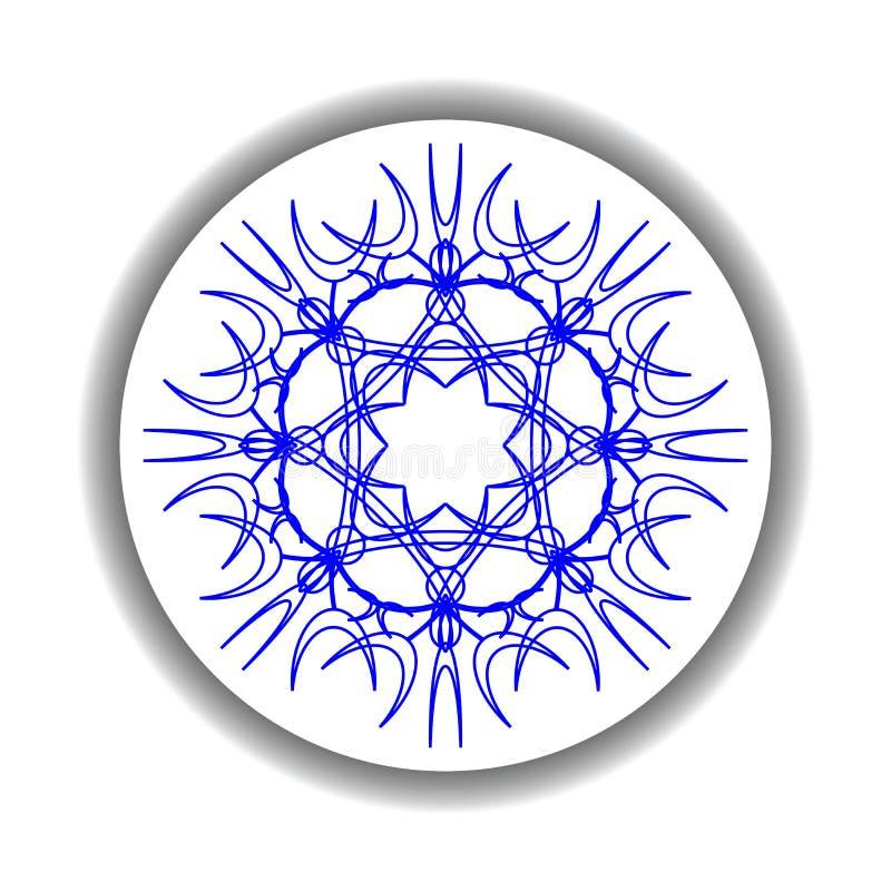 Download Snow flake medallion 2 stock vector. Illustration of design - 13211280