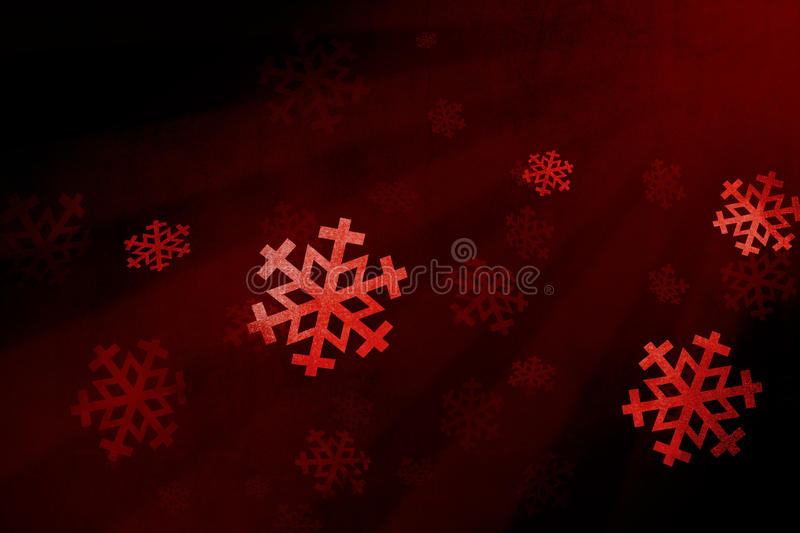 Download Snow flake red stock illustration. Illustration of christmas - 11774255