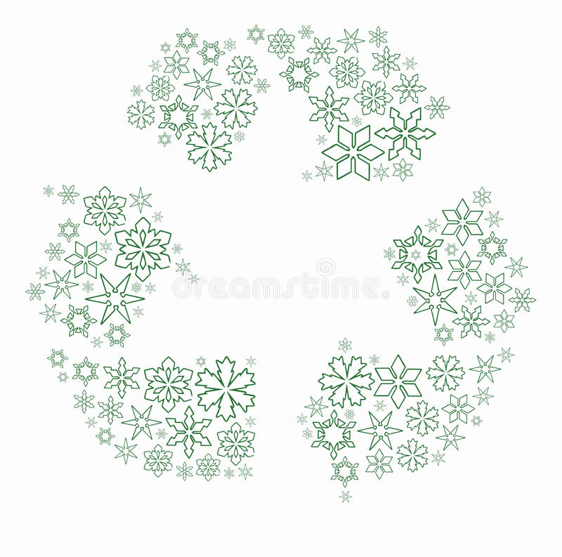 Download Snow flakes stock illustration. Image of clean, motion - 27668740