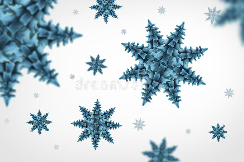 Download Snow flakes stock illustration. Image of celebration - 27827395