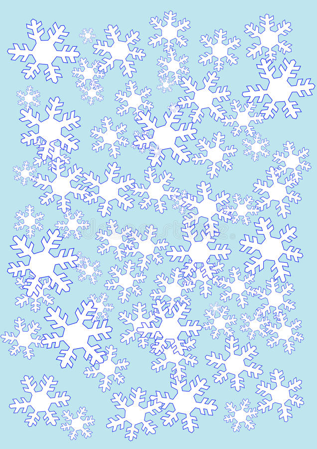 Download Snow Flakes Background Royalty Free Stock Photos - Image: 23222568