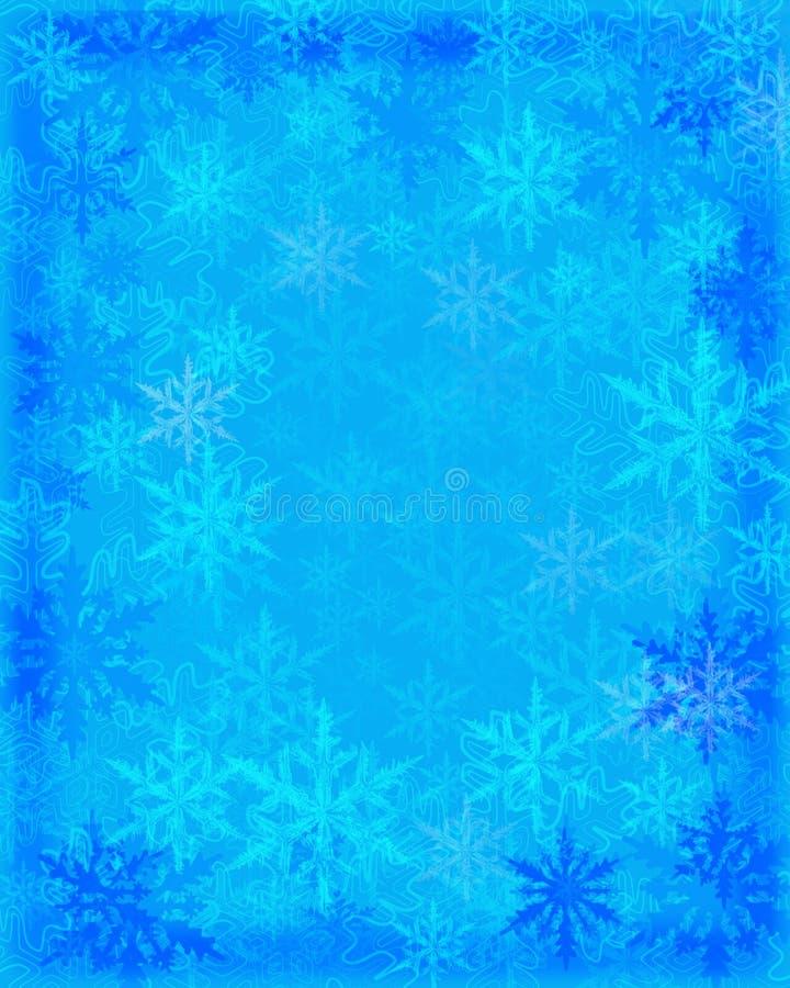 Download Snow flakes background stock illustration. Illustration of snow - 6951264