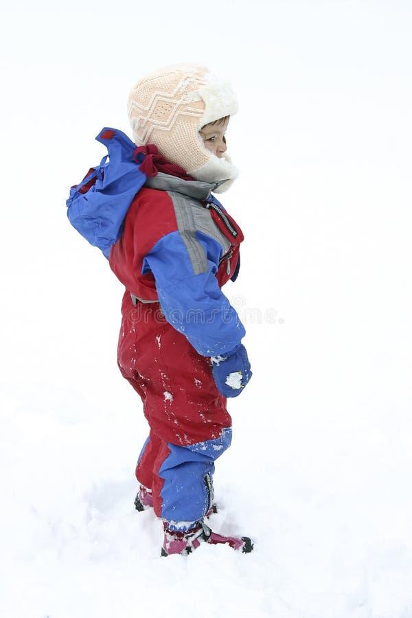 Snow fun royalty free stock image