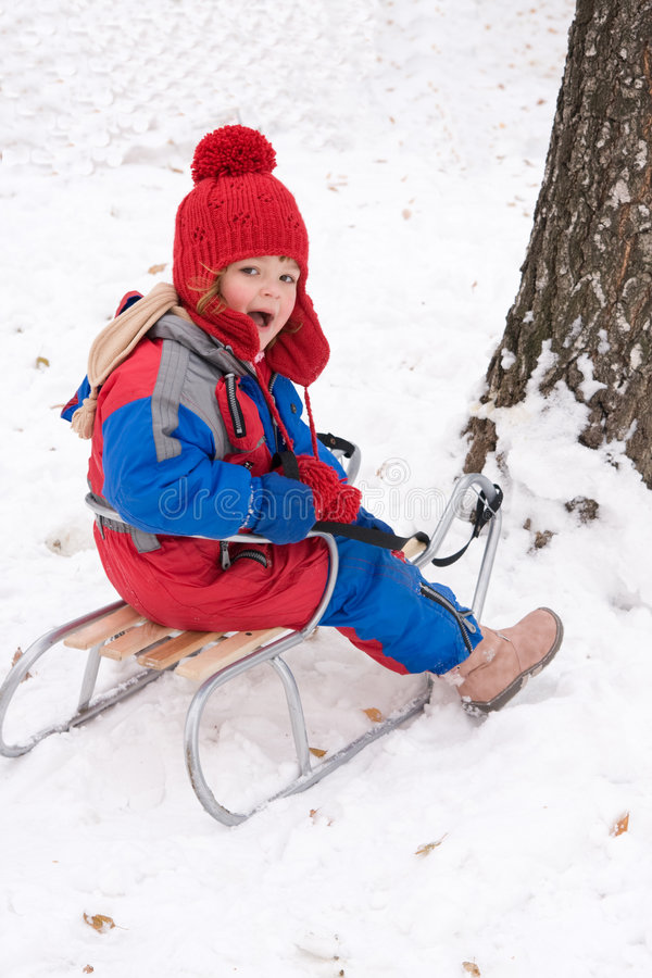 Download Snow fun stock image. Image of january, preschooler, december - 3661713