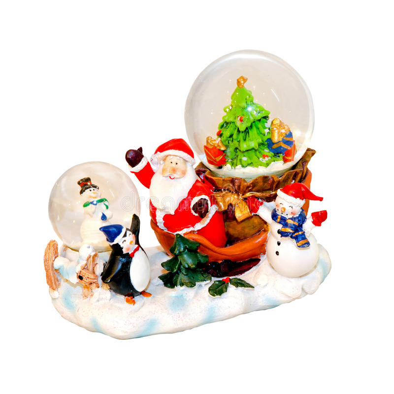 Download Snow Globe stock image. Image of penguin, holiday, path - 16995517