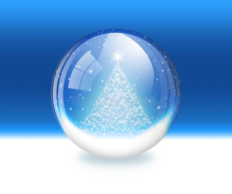 Download Snow globe stock illustration. Image of illustration - 22343638