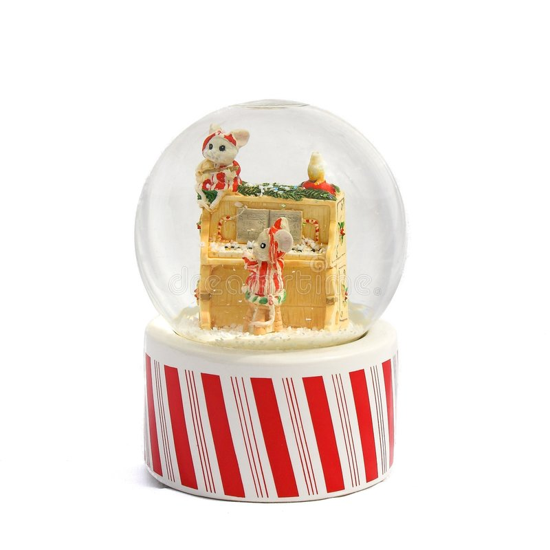 Download Snow Globe stock image. Image of piano, december, ornament - 255535