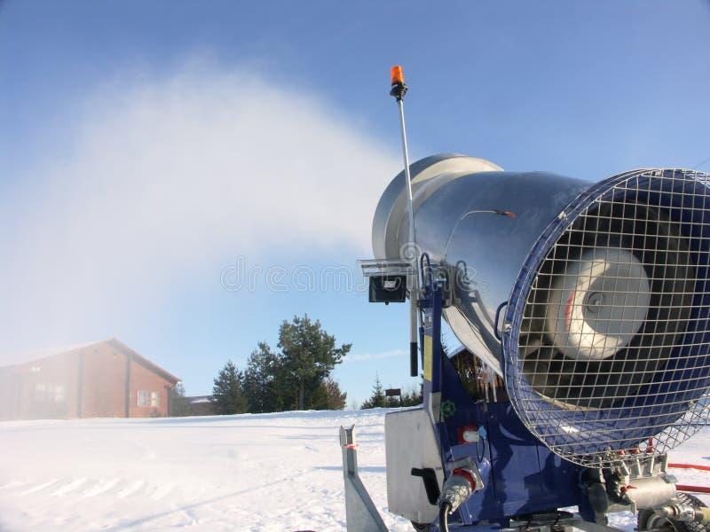 Snow gun stock photos