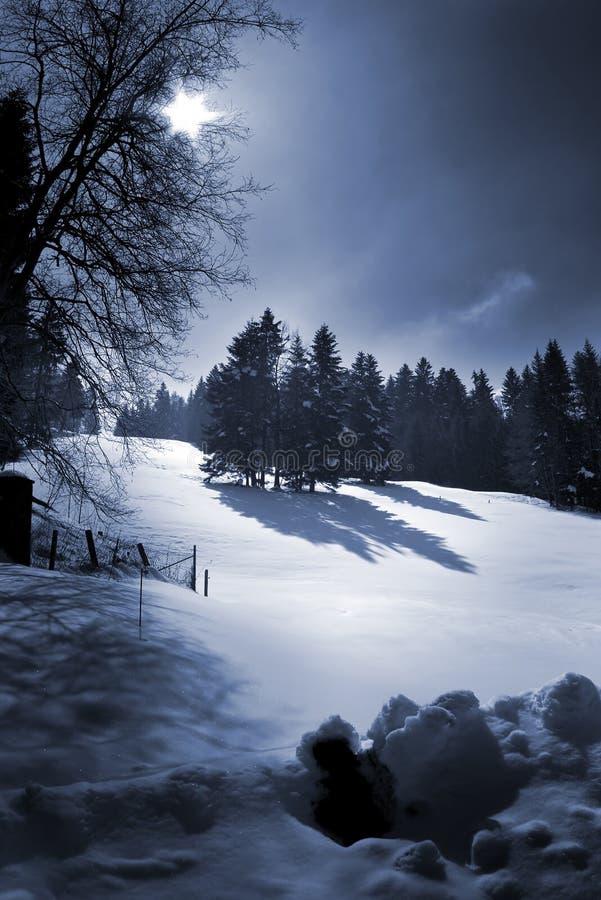 snow hill zdjęcie royalty free