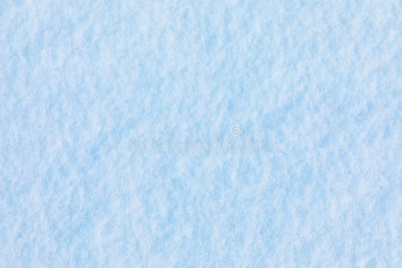 Snow and ice crystal background or texture of Russian park of forest stock image