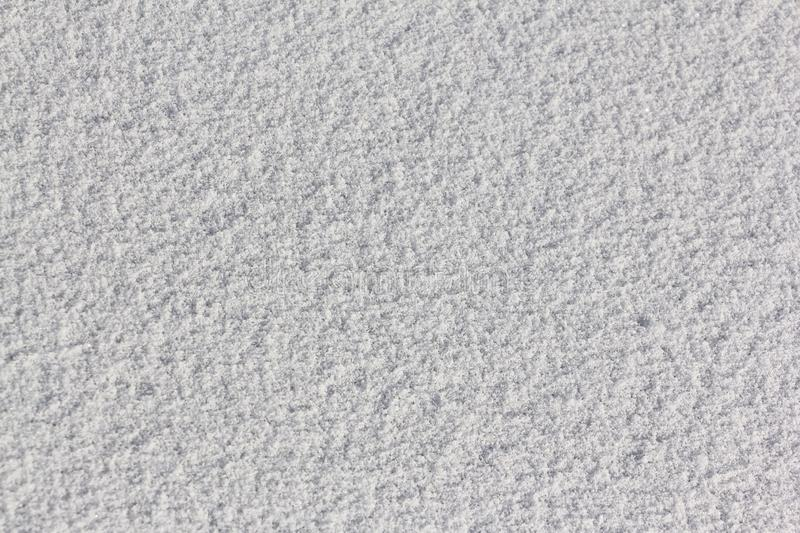 Snow on the ice of a frozen river, natural background. Snow on the ice of a frozen river in the winter, natural background royalty free stock image