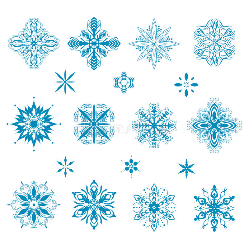 Download Snow icons stock vector. Image of icons, illustration - 35760380