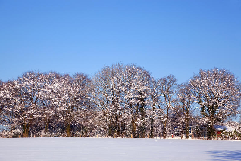 Download Snow landscape stock image. Image of horizontal, nobody - 15940629