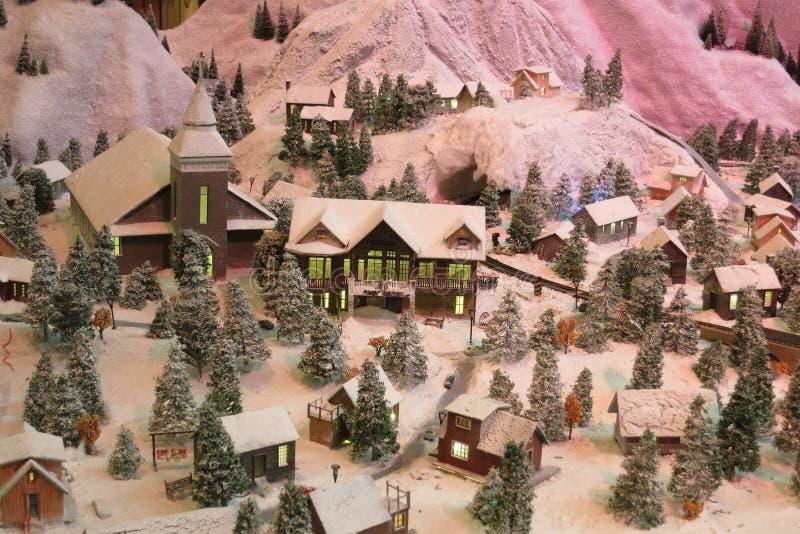 Snow little toy stock photos