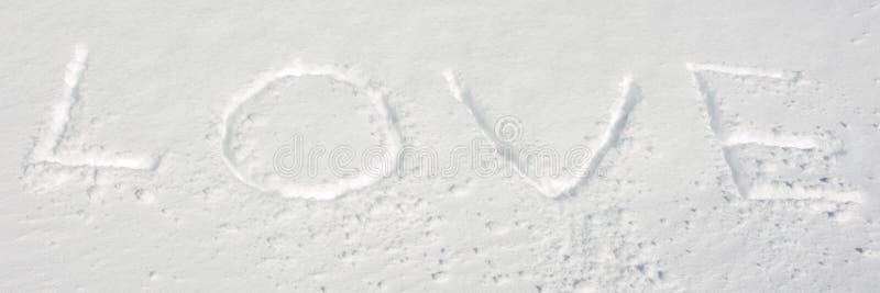 Snow Love Royalty Free Stock Image