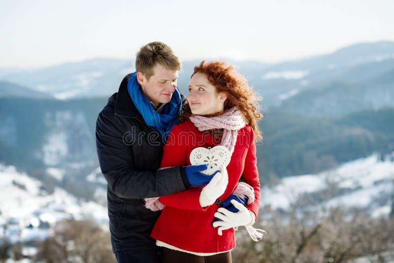 Snow Love Royalty Free Stock Photos