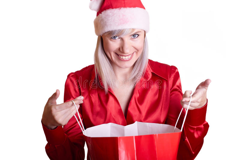 Download Snow Maiden stock image. Image of girl, clause, expression - 11822045