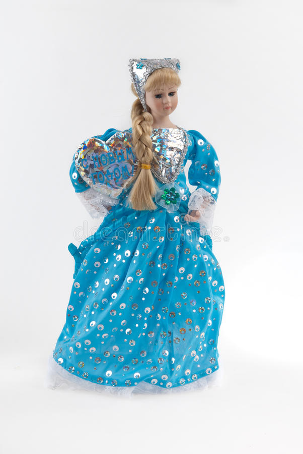 The Snow Maiden royalty free stock photography