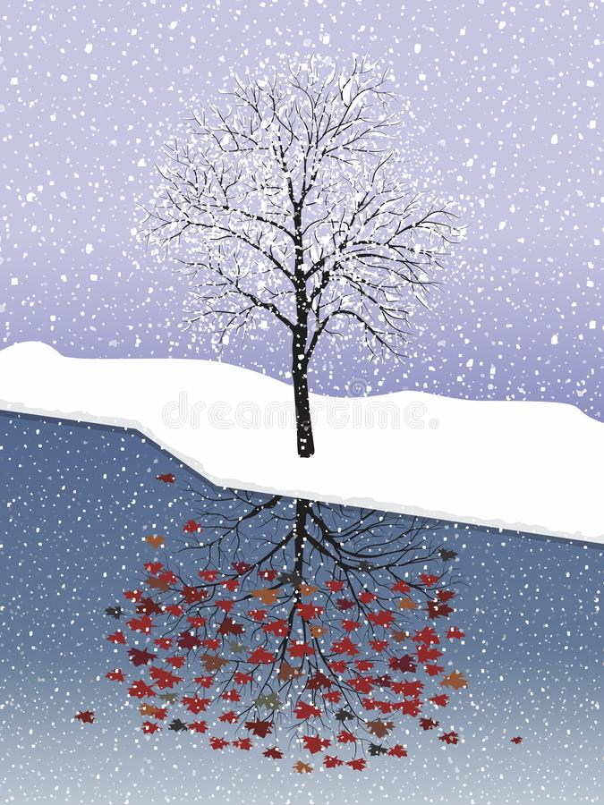 Free Snow Maple. Royalty Free Stock Image - 140530166