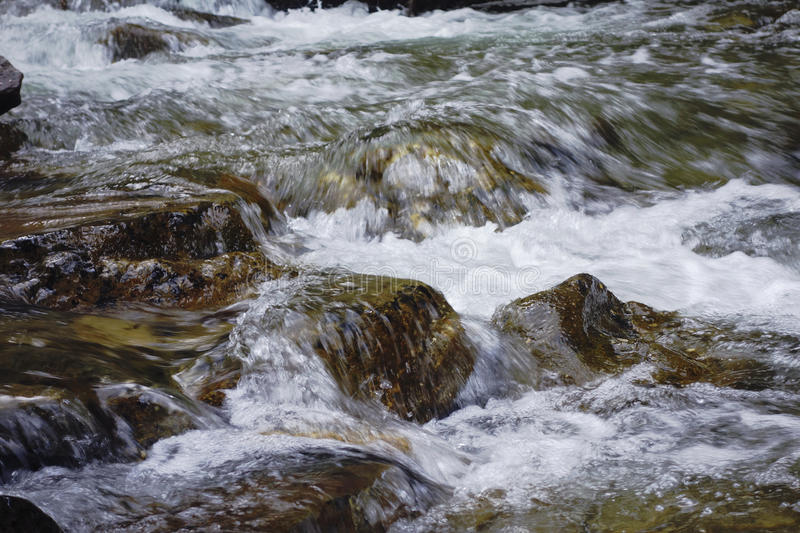 Snow Melt Flow royalty free stock images