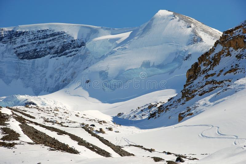 Snow Mountain Free Stock Photography