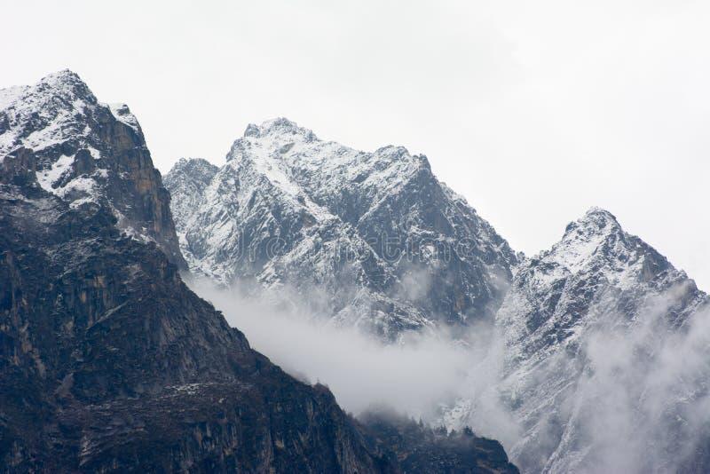 Snow Mountain stock photos