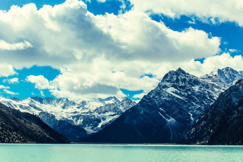 Snow Mountain,Tashkent,Uzbekistan royalty free stock images