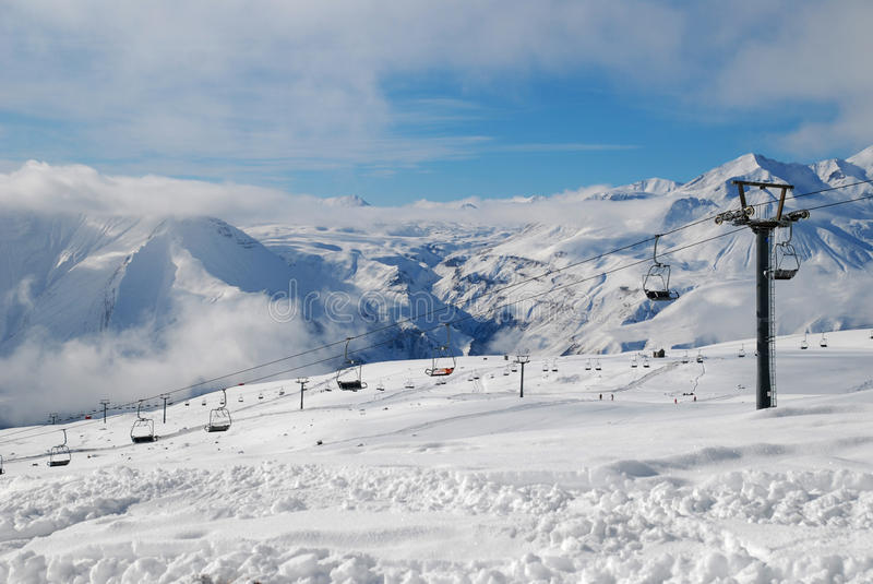Download Snow and mountains stock image. Image of holiday, outdoor - 25634207
