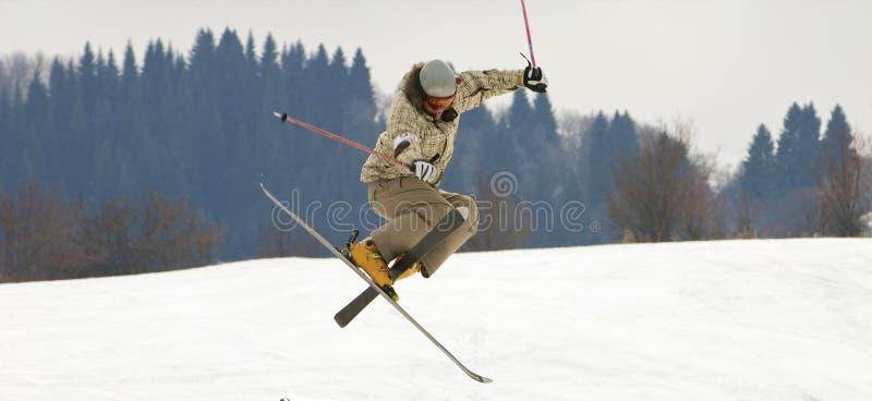 Snow-park royalty free stock photo