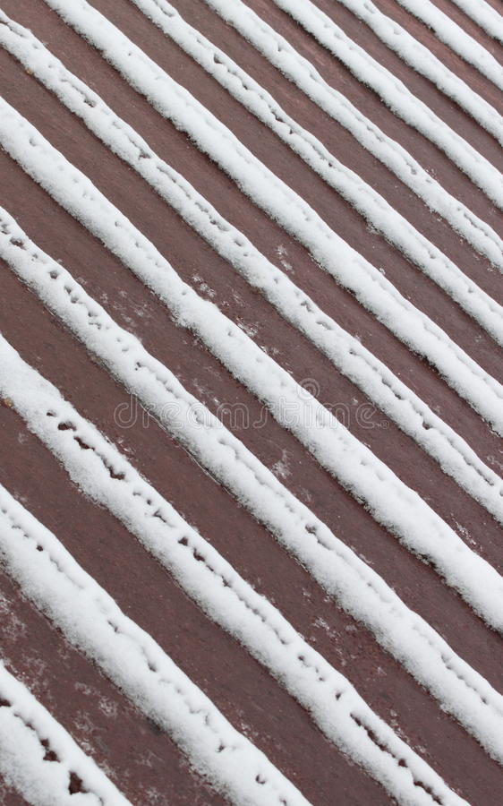 Download Snow Pattern Deck stock photo. Image of pattern, deck - 18045934