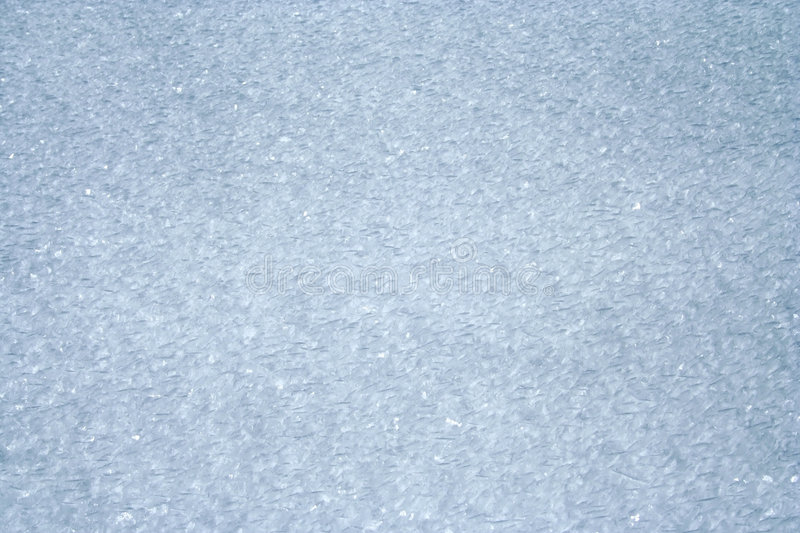 Snow pattern. Icy snow pattern as background royalty free stock photography