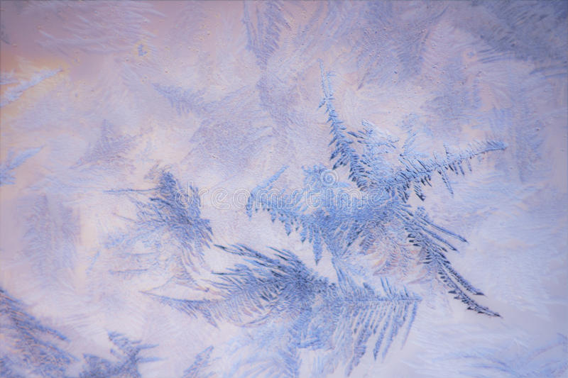 Snow pattern on the surface royalty free stock images