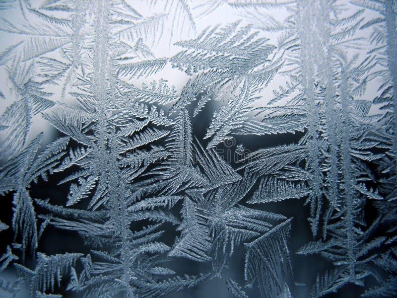 Download Snow Pattern On Winter Window Stock Photo - Image: 17436950