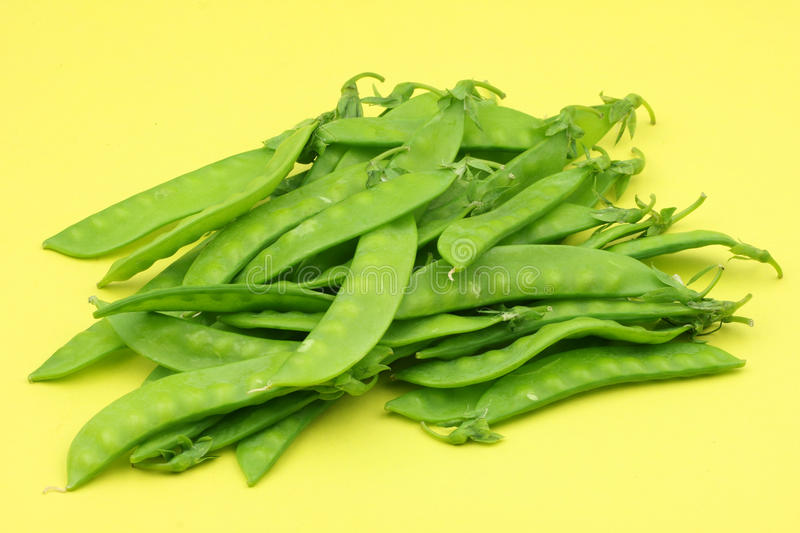 Download Snow peas stock photo. Image of unshelled, peas, yellow - 16649480